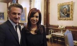 Sean Penn'den Arjantin'e Falkland desteği