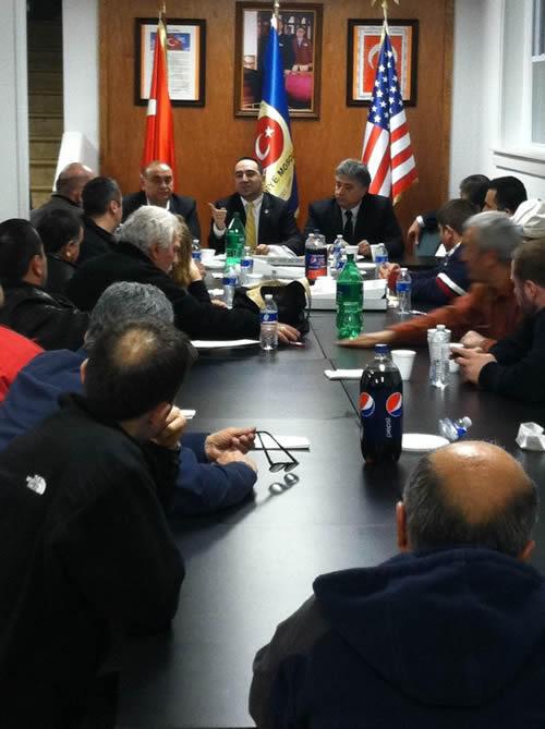 TADF New Jersey ve Pennsylvania'da Toplum Liderleri ile Buluştu