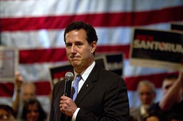 Lousiana'daki ön seçimlerin galibi Santorum