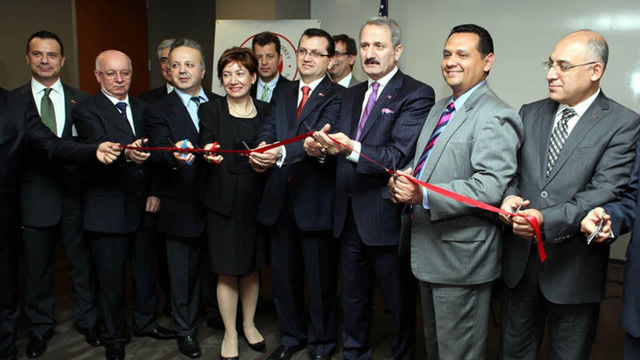 Bakan Çağlayan Houston Ticaret Ataşeliği açılışını yaptı