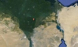 ABD'deki evinden Mısır'da piramit buldu