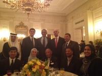 Obama'nın iftar yemeğinde Türkler de vardı
