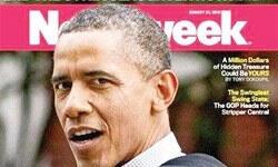 Newsweek dergisinden Obama'yı üzen kapak