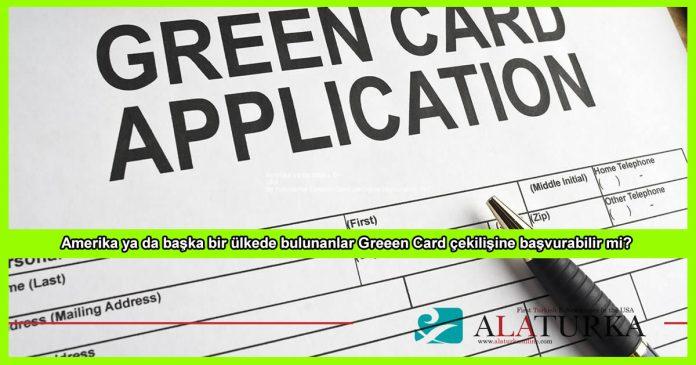 Green Card Basvuru Kosullari Nereden Basvurabilirim