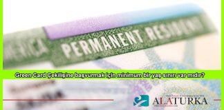 Green Card Basvuru Yas Siniri