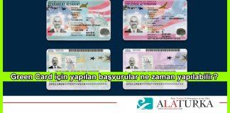 Green Card Basvuru Zamani