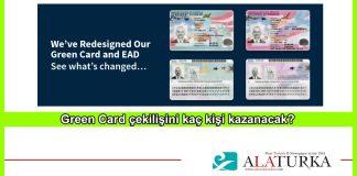 Green Card Cekilisini Kac Kisi Kazanacak
