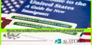 Green Card Kendiniz mi Yapmalisiniz
