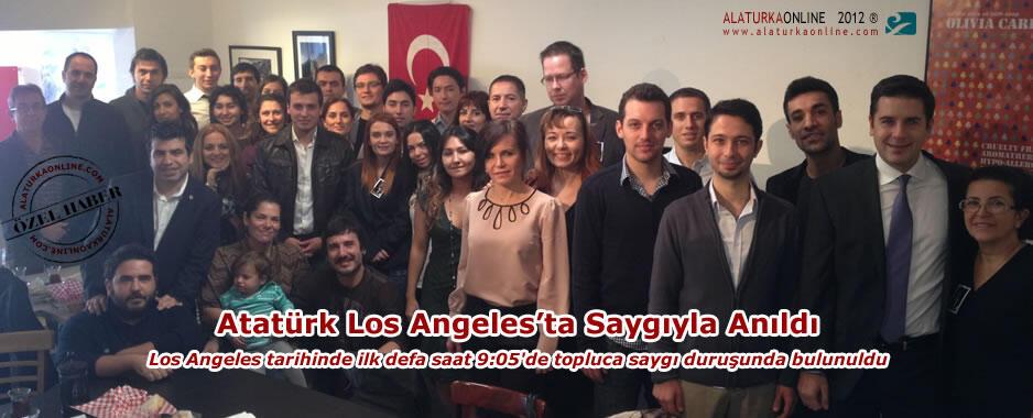 Atatürk Los Angeles'ta Saygıyla Anıldı