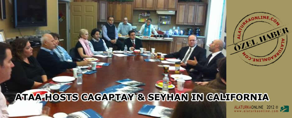 ATAA Hosts Cagaptay & Seyhan in California