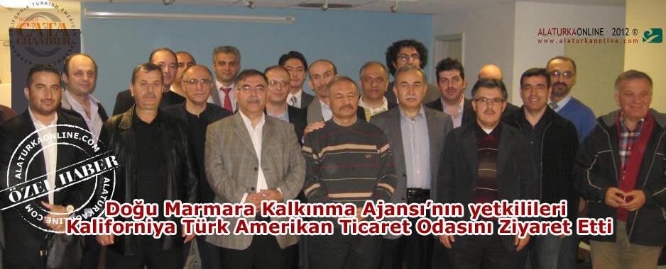 DMKA, Kaliforniya Türk Amerikan Ticaret Odasını Ziyaret Etti