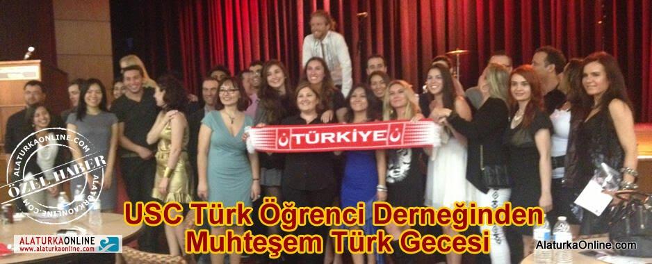 USC Türk Öğrenci Derneğinden Muhteşem Türk Gecesi