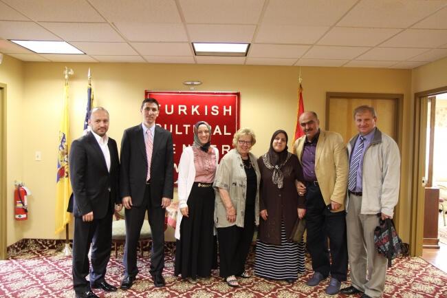 NJ Eyalet Senatörü Türk toplumu ile biraraya geldi