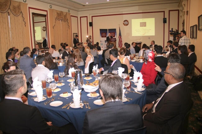 Amerikalı Türkler ABD Kongresi'nde iftar yemeği verdi