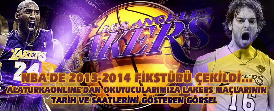 NBA 2013-2014 Sezonu Fikstürü Açıklandı