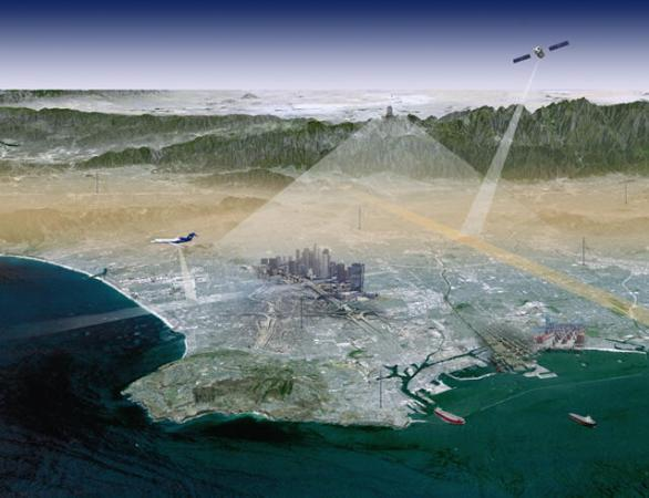 los angeles megacities carbon project