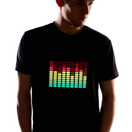 Yeni moda LED tişörtler