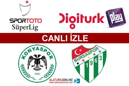 Konyaspor – Bursaspor maçını canlı izle