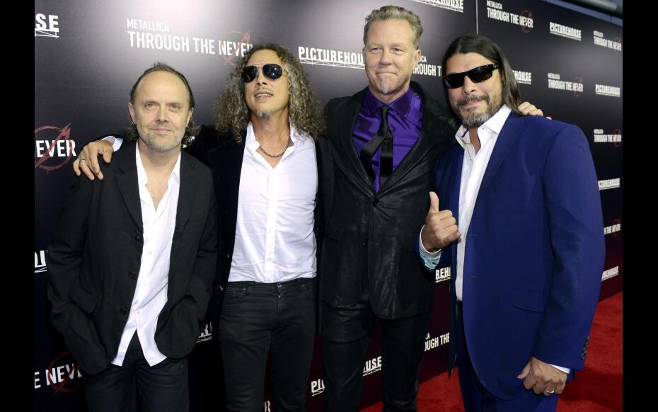 Metallica Grammy Ödüllerinde yine Sahnede