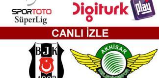 Beşiktaş - Akhisar Bld.Spor maçını canlı izle