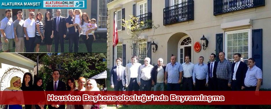 Houston Başkonsolosluğu'nda Türk Toplumu Bayramlaştı