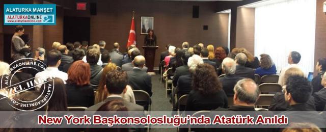 New York Baskonsolosluk Ataturk Anildi