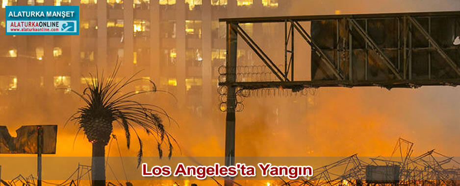 Los Angeles'ta Yangın