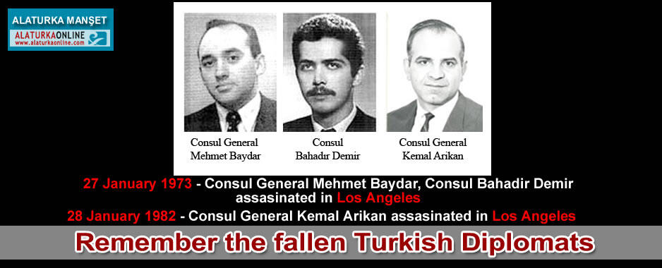 Remember the fallen Turkish Diplomats
