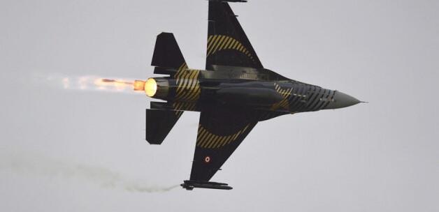 Türk Uçakları Amerika Birleşik Devletleri Nevada' da