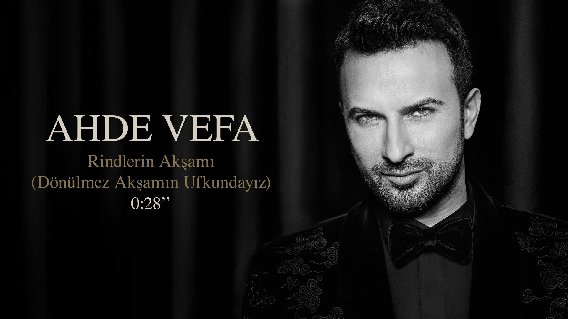 Tarkan Ahde Vefa albümü