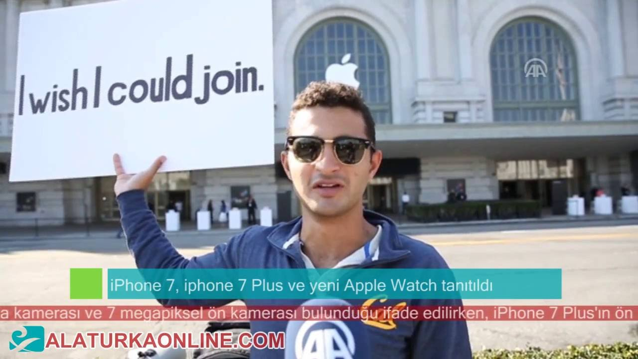 iphone 7, iphone 7 Plus ve yeni Apple Watch San Francisco' da tanıtıldı