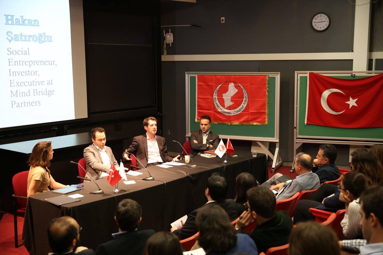 Amerika'daki Türk öğrenciler ile Girişimciler Buluştu