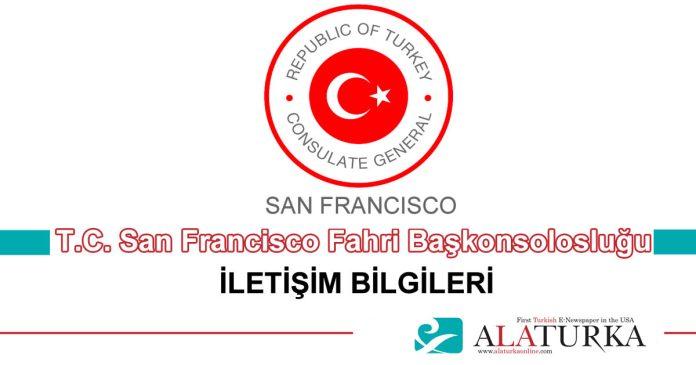 San Franscisco Fahri Baskonsoloslugu Illetisim Bilgileri