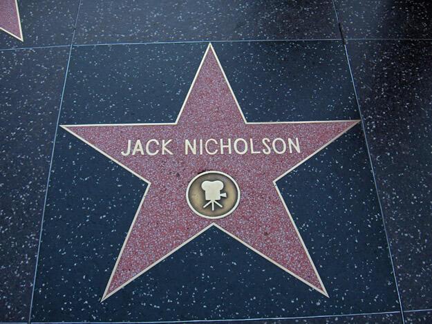 Hollywood Jack Nicholson Yildizi