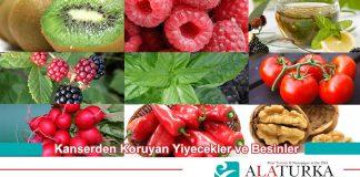 Kanserden Koruyan Yiyecek ve Besinler
