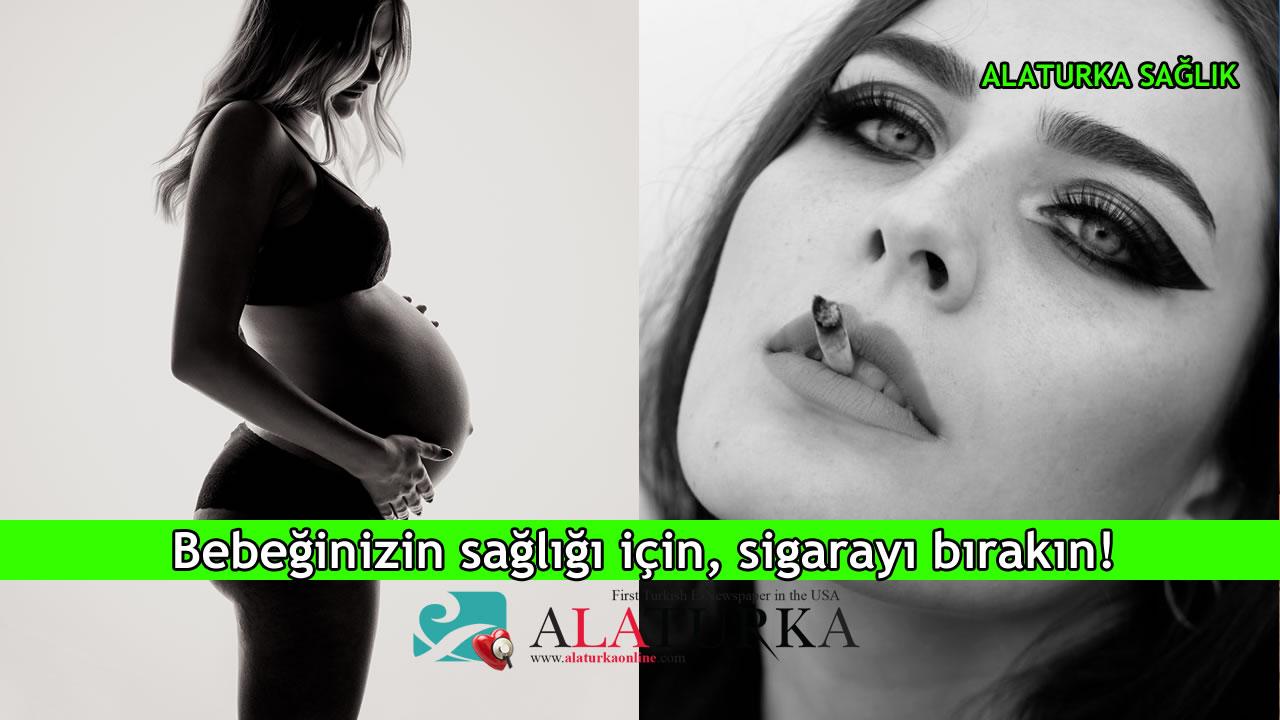 Bebeğinizin sağlığı için, sigarayı bırakın!