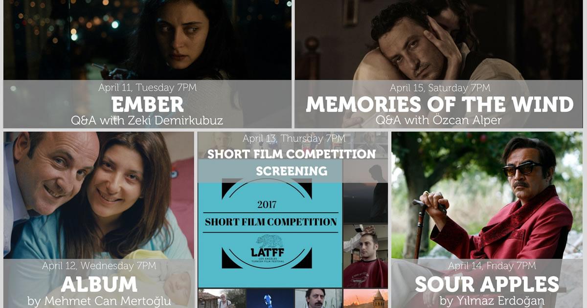 5. Los Angeles Türk Film Festivali (11-15 Nisan 2017)