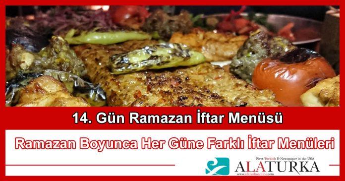 14 Gun Ramazan Iftar Menusu