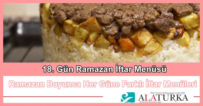 18 Gun Ramazan Iftar Menusu