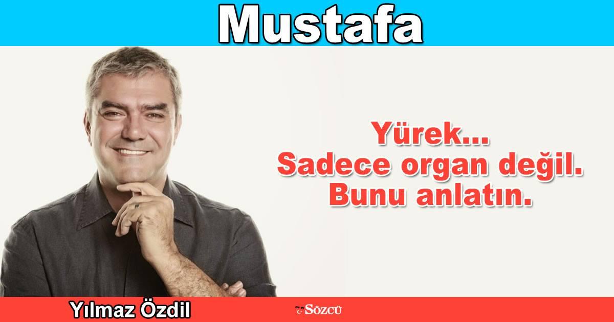 Mustafa –Yılmaz Özdil