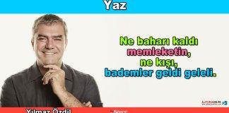 Yaz - Yilmaz Ozdil
