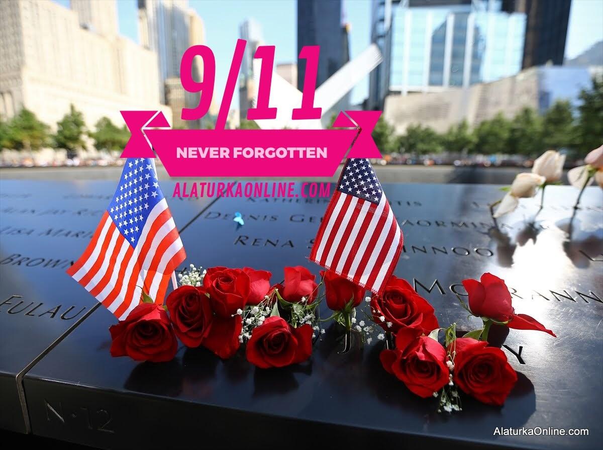 11 Eylül saldırılarının 16. Yılında hayatlarını kaybedenler anıldı