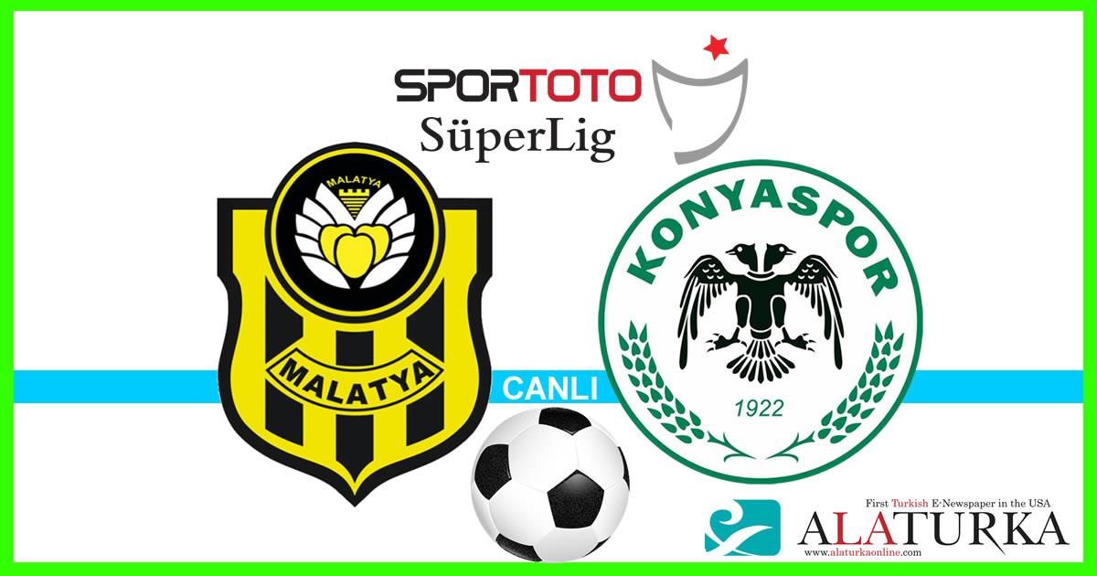 Yeni Malatyaspor – Konyaspor maçını canlı izle