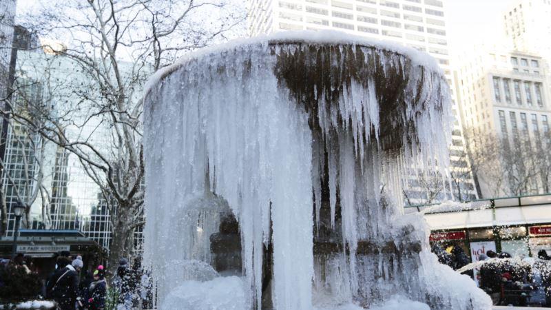 Amerika Dondurucu Soğukların Etkisi Altında