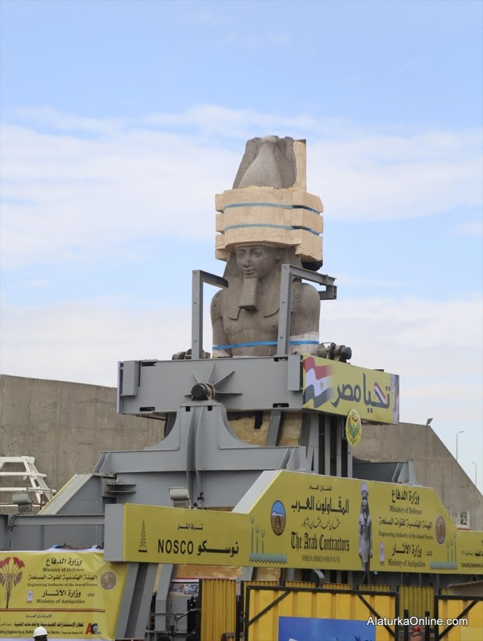 Relocation of Statue of Ramesses II in Egypt (3)