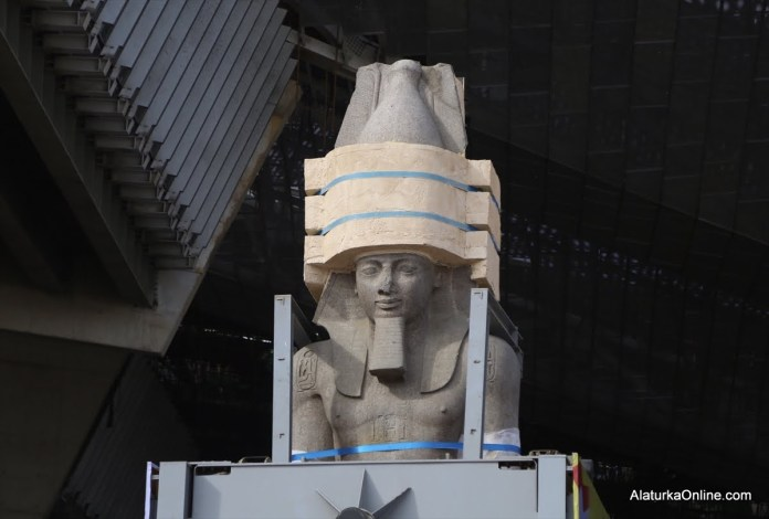 Relocation of Statue of Ramesses II in Egypt (5)
