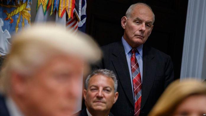'Trump Kelly'i Görevden Almayı Düşünmüyor'