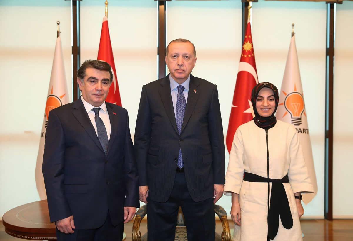 TADF Başkanı Atilla Bak'tan Cumhurbaşkanı Erdoğan'a Ziyaret