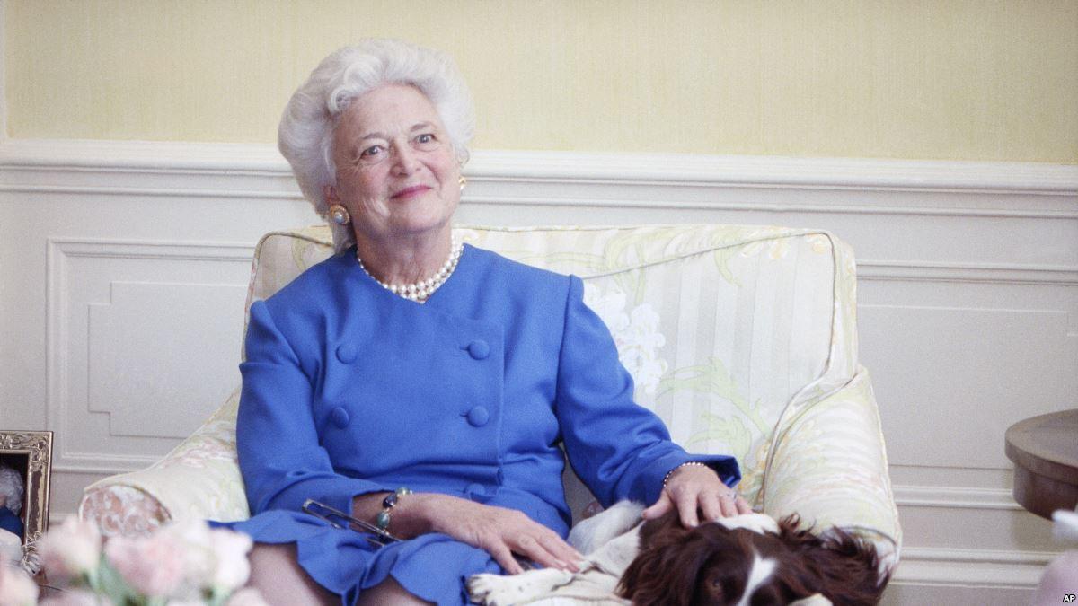 Eski First Lady Barbara Bush Yaşamını Yitirdi