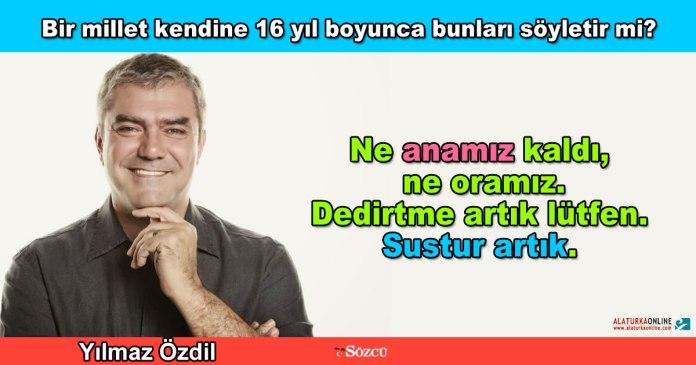 Sustur Artik - Yilmaz Ozdil